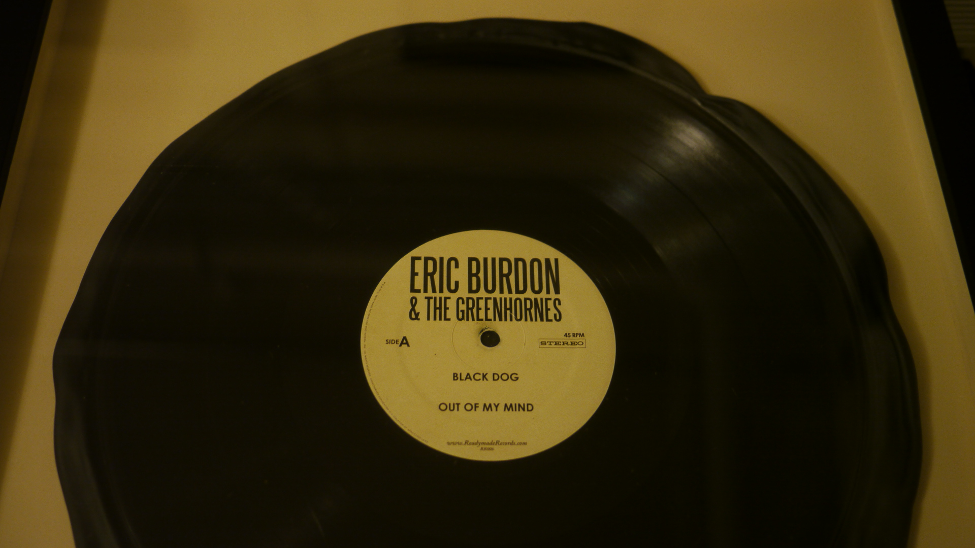 vinyl production record