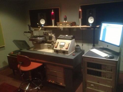 studio vinyl mastering suite