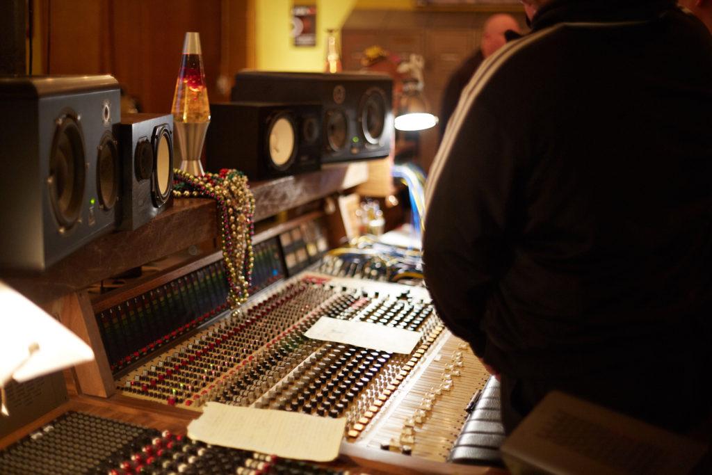 Analog and Digital Recording Setup