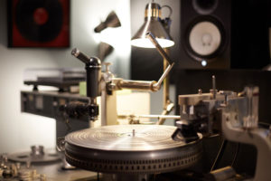 Vinyl Mastering Cutting Lathe